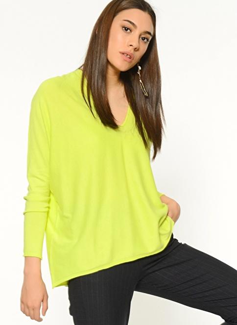 Stefanel Bluz Yeşil